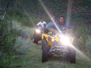 Enjoy the quad bike with an eye on safety!