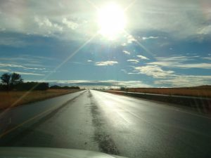 Protect eyes from the dangers of sun glare on the road