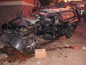 Wife of fireman killed in horrific accident at intersection