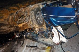Tragic accident on N2 near Tugela Toll Plaza