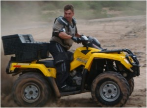 Are quad bikes legal on the road?