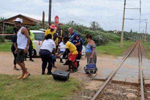 Goods train kills two siblings crossing the tracks