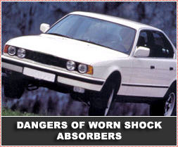 Be shocked if your car bounces around on the road!