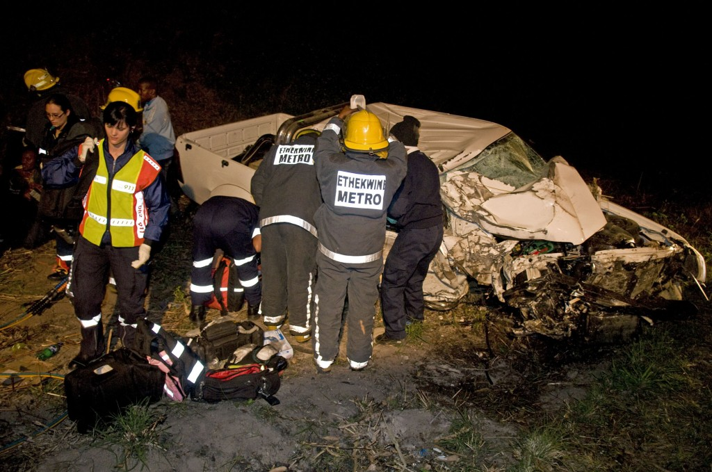 Horror 4X4 accident on the R603 near the M35 in KZN