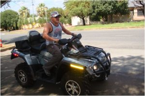 What does the law say about quad bikes on public roads?