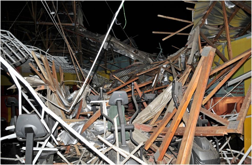 11 Injured in Building Collapse at Newlands Shopping Mall, Durban