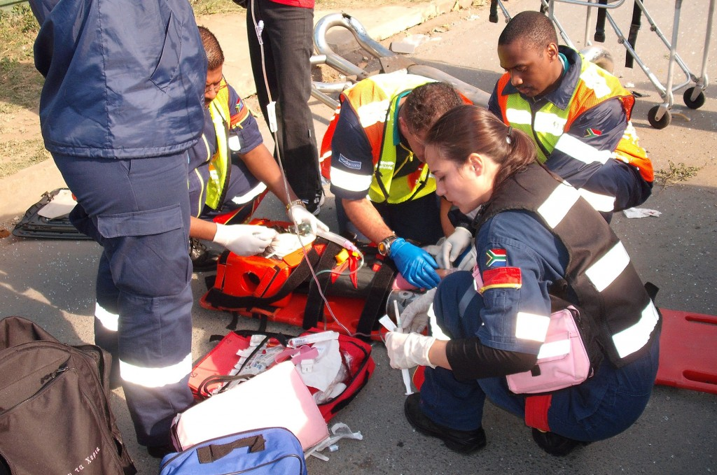 7 year old critically injured in accident outside Moses Mabida Stadium