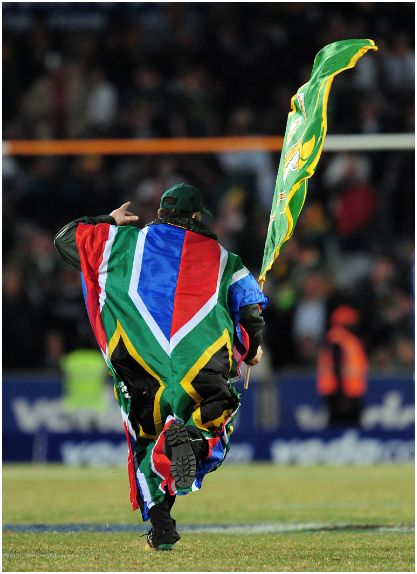 It is OK to wave the Springbok flag in Victory!