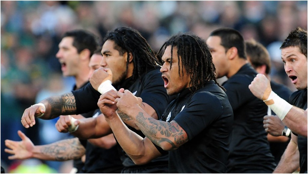 How do we interpret the words of the All Blacks Haka?
