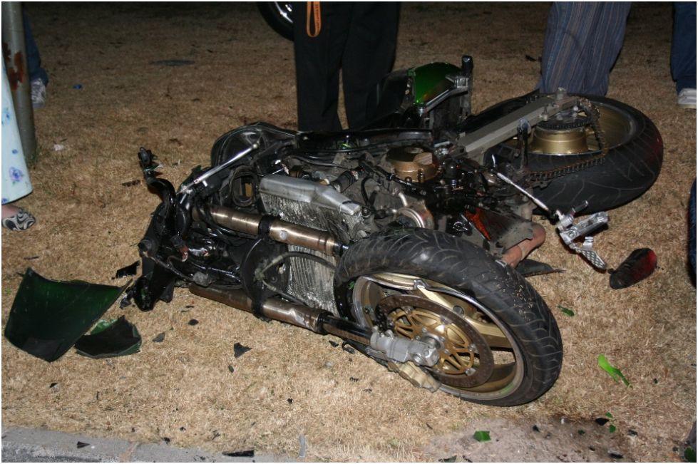 Bike Accident in Florida, Johannesburg