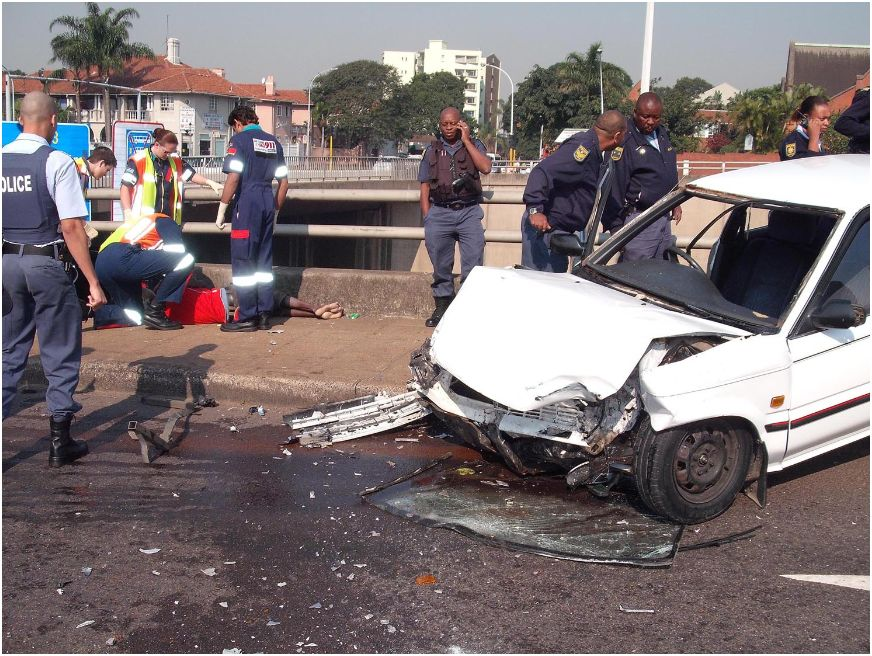 Man dies in accident on Berea Road, Durban