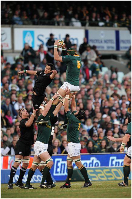 Victor Matfield a Springbok legend who can JUMP!!