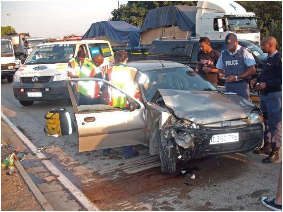 Elderly male dies in accident on M7