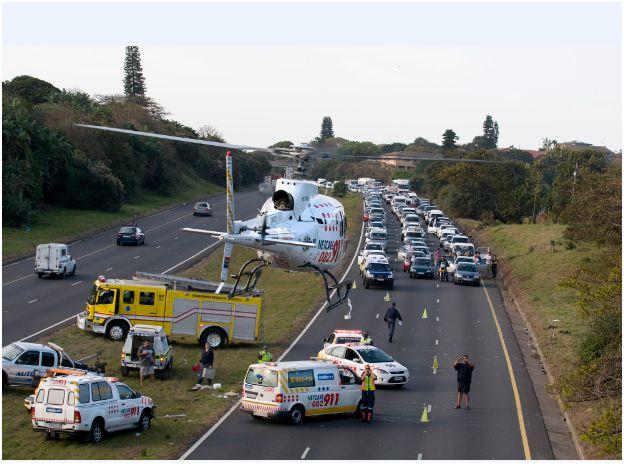 Horrific Accident in Amanzimtoti