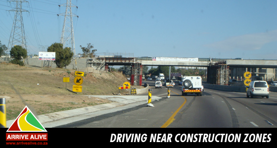 Drive defensively near areas of Construction!!