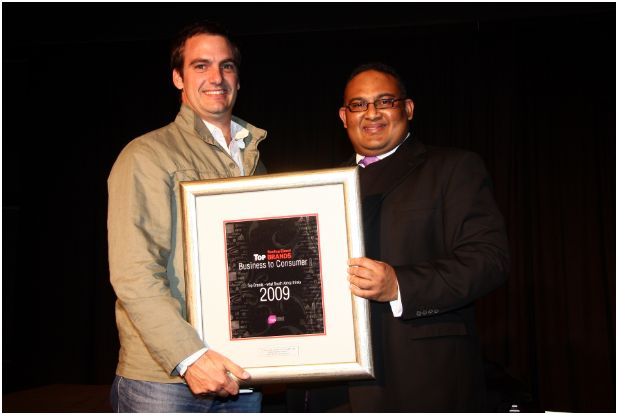 Road Safety Partner OUTsurance Scoops up Sunday Times Top Brand Award