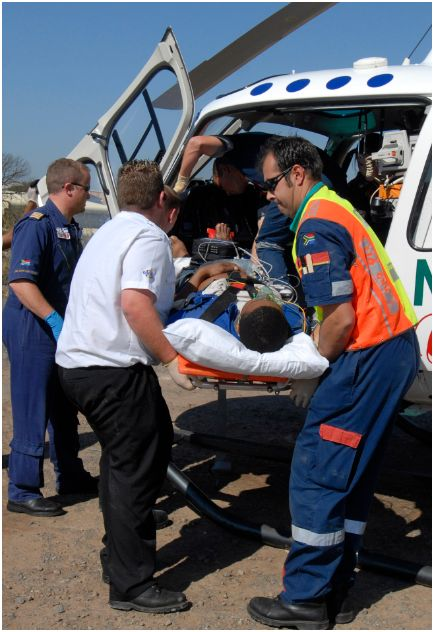 Industrial accident in Pinetown