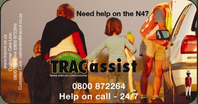 TRACassist helped many road users between January and August 2009
