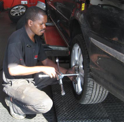 Bridgestone advises motorists to use reputable fitment centres