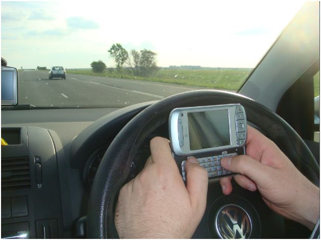 Distracted driving becoming an epidemic
