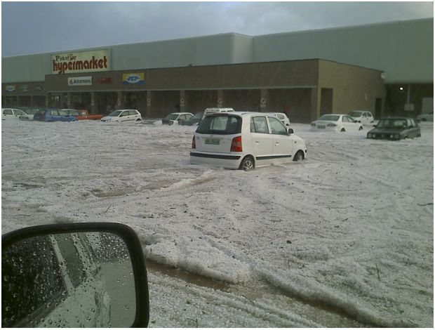 Shocking reality of hail storm in Klerksdorp