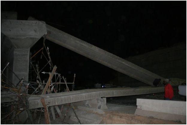 Photo of bridge collapse on N4 near Nelspruit