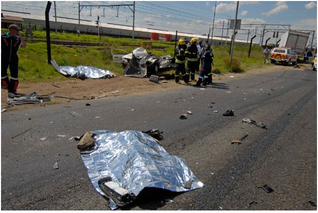 Four department of home affairs workers die in horror smash
