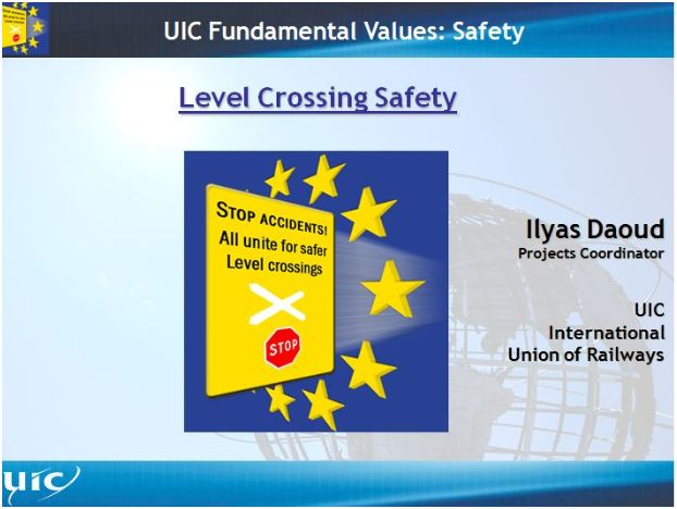 International Level Crossing Awareness Day (ILCAD) meeting to be held 10th December