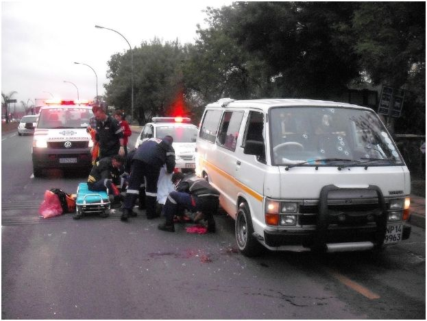 Taxi accident leaves 8 injured