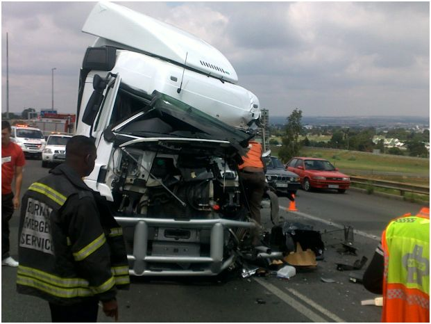 Snarl up as trucks collides on the N17