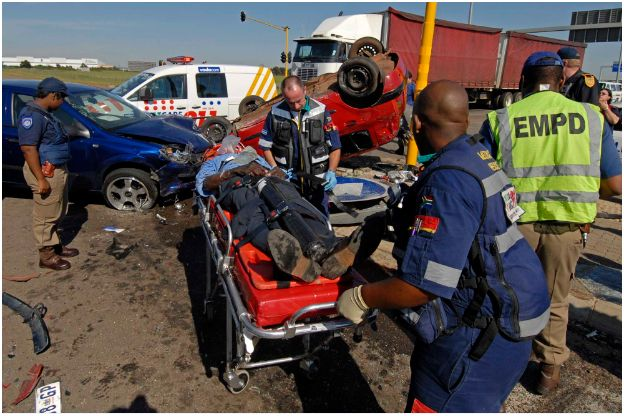 Early morning accident in Kempton Park