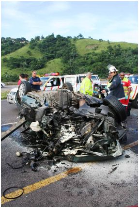 Four killed, one man critically injured in N3 crash