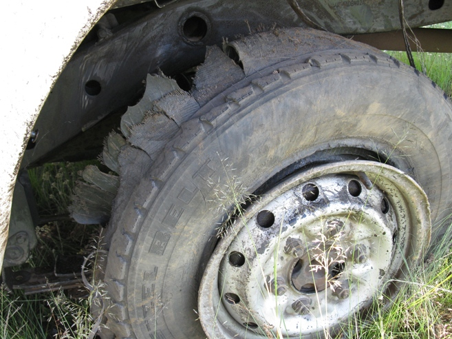 Bakkie Blowout..retread maybe..