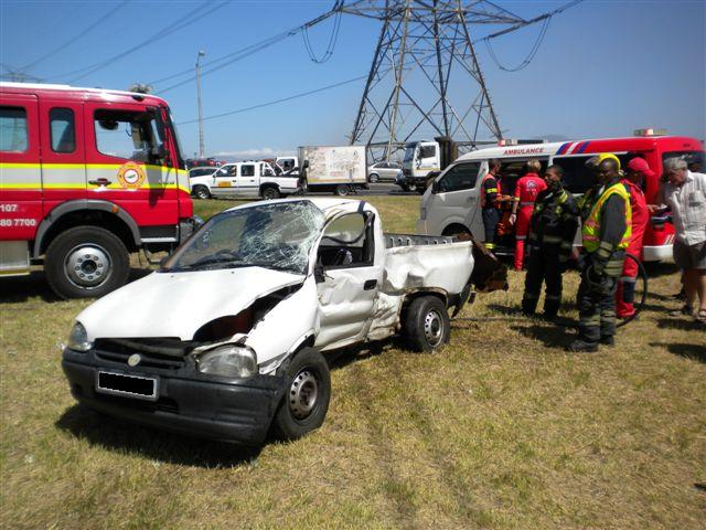 Serious injuries in Cape Town collision