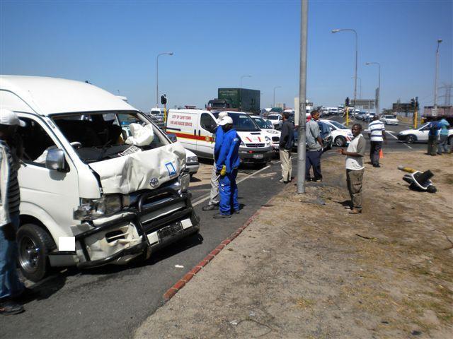 Collision in Cape Town