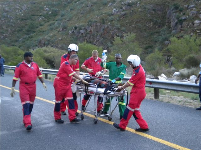 Patient Airlifted from Collision on N1