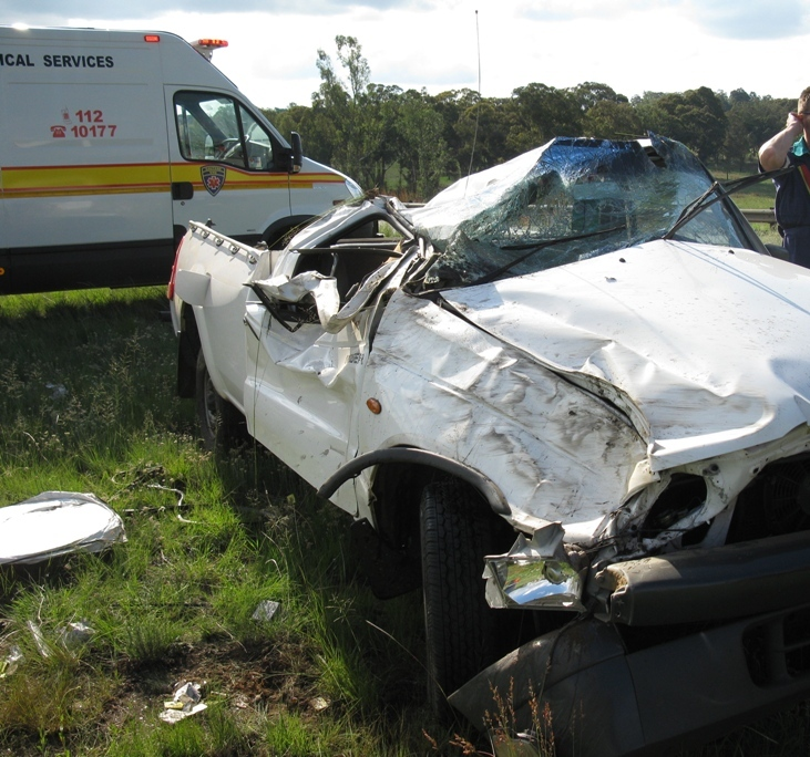 ..fatal for the bakkie driver...