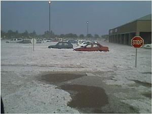 Australian car owners suffer hail damage