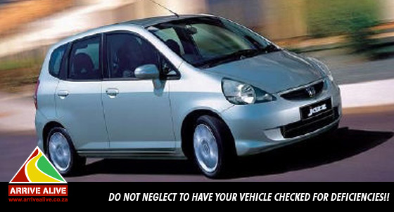 Do not neglect to have your vehicle checked for deficiencies!!