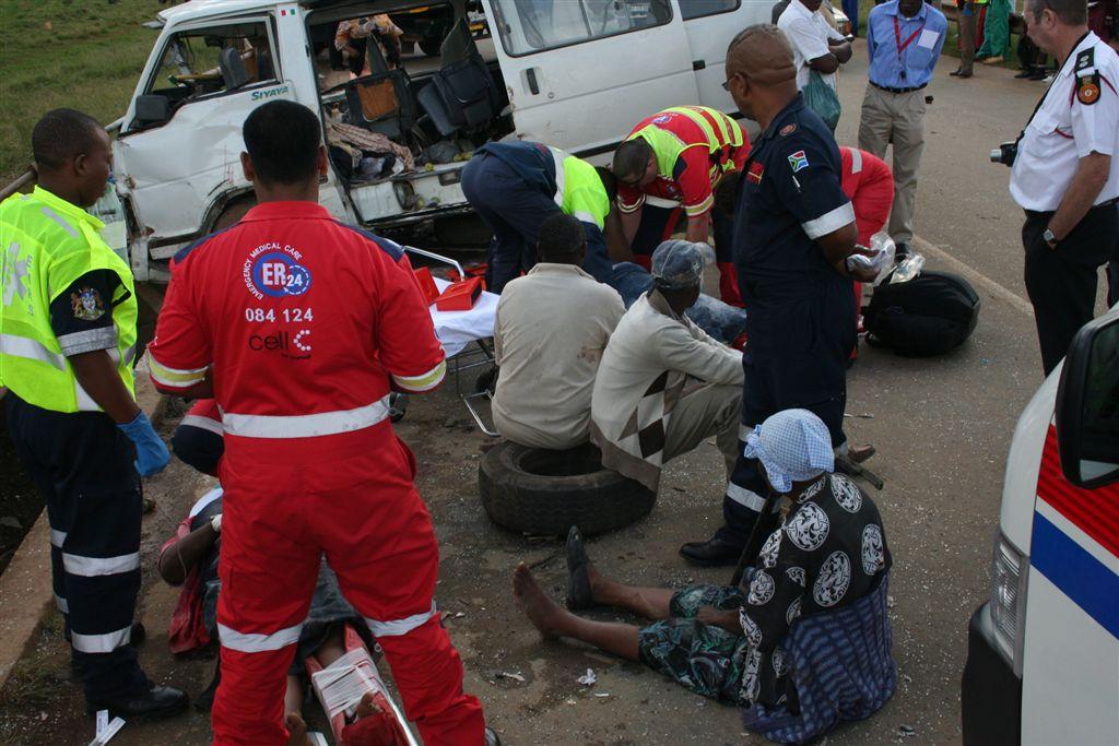 Edendale Collision Leaves 23 Injured