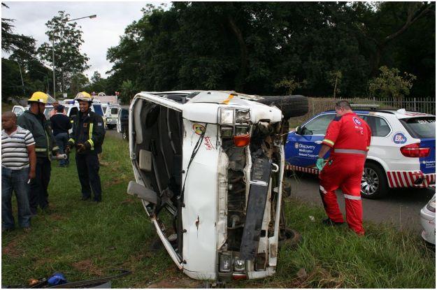 Taxi Accident Leaves 13 Injured in Pietermaritzburg