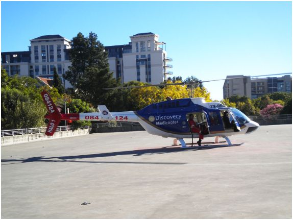 ER24's Discovery Medicopter saves lives with fast response
