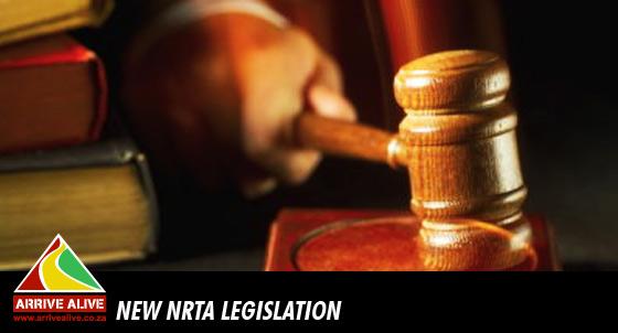 New National Road Traffic Act Legislation
