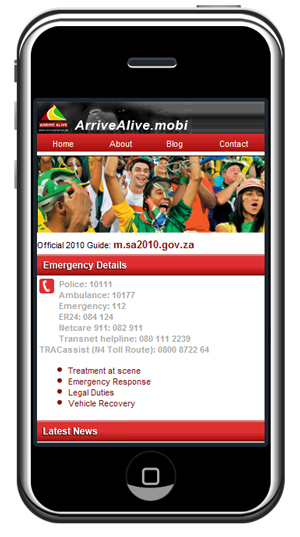 arrivealive-phone