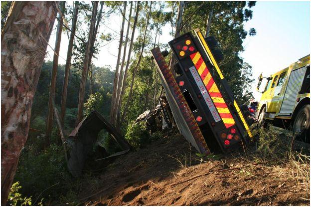Fatal Truck Accident near Hillcrest