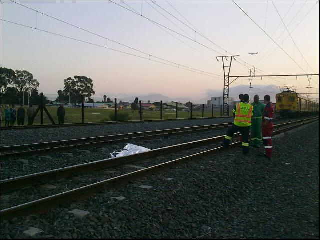 Man Dead After Being Hit By Train near Parow