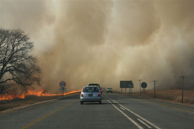 Environmental Affairs contains wildfires in Limpopo