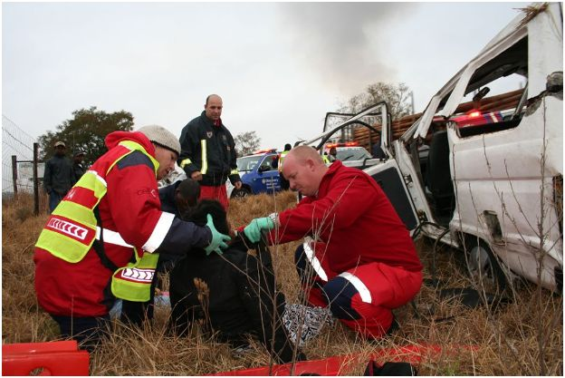 Four Injured In Accident On The R33