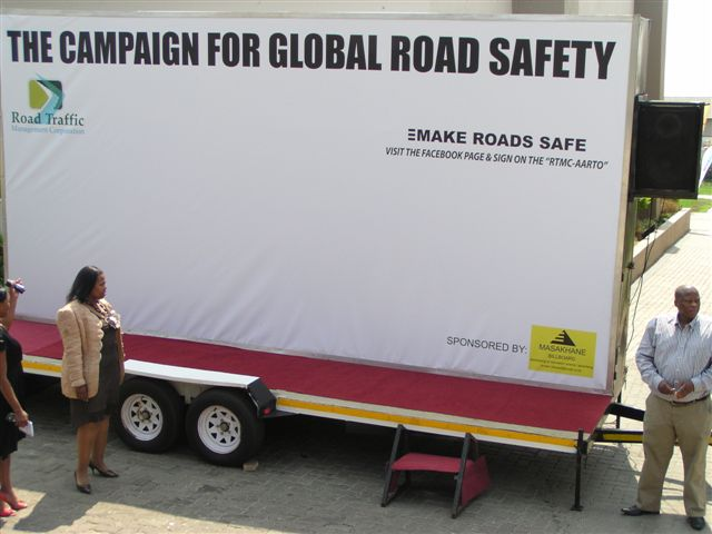 RTMC commits to Make Roads Safe Campaign