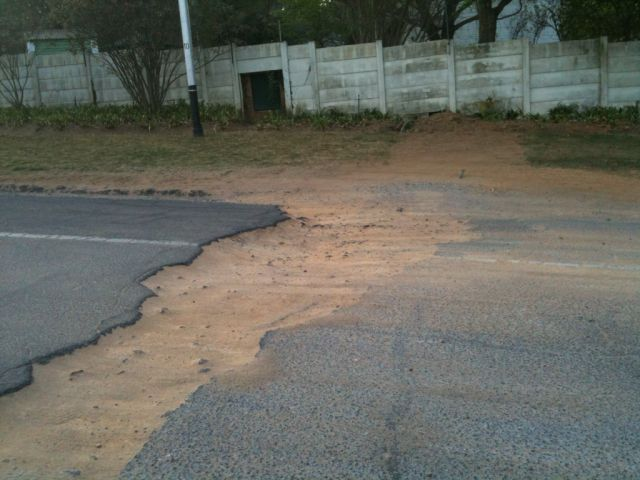 Potholes increase the need to check wheel alignment and shock absorbers